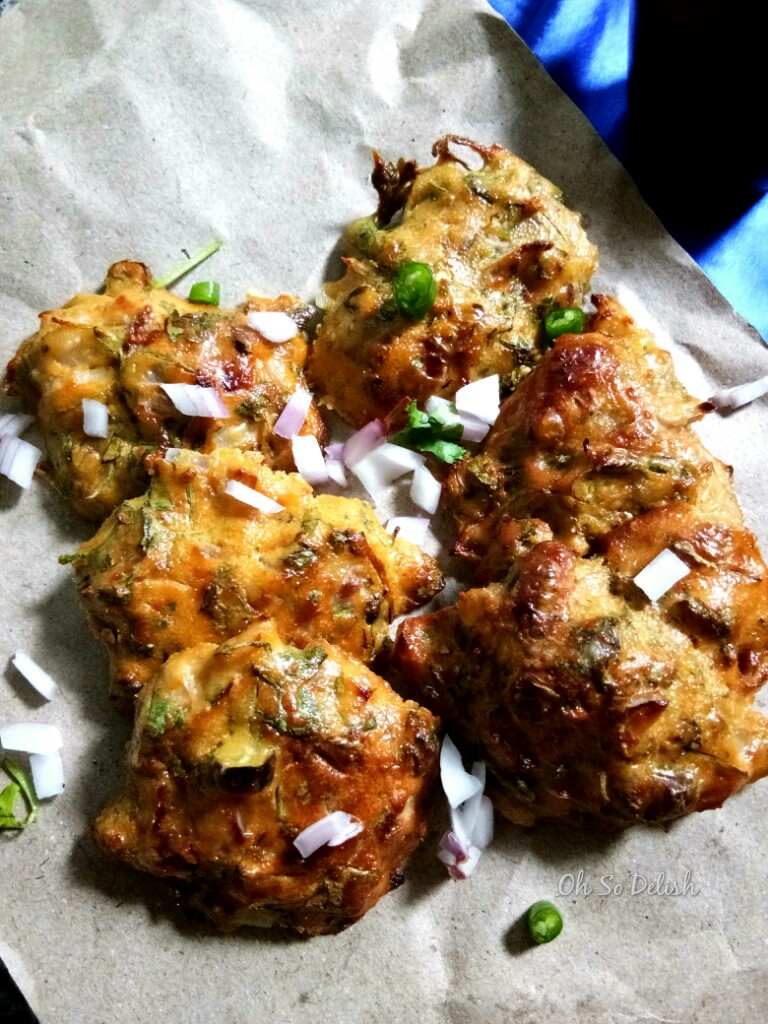 baked fish roe fritters