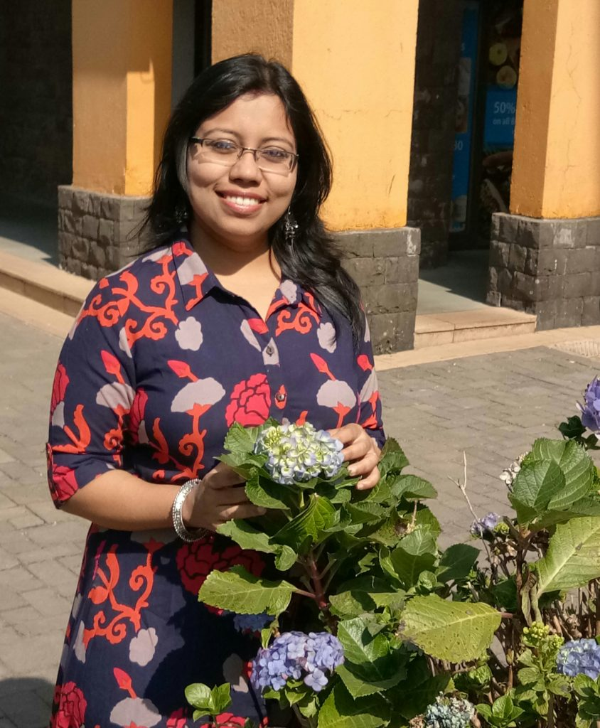 Priyanjali Joardar, food blogger, recipe developer