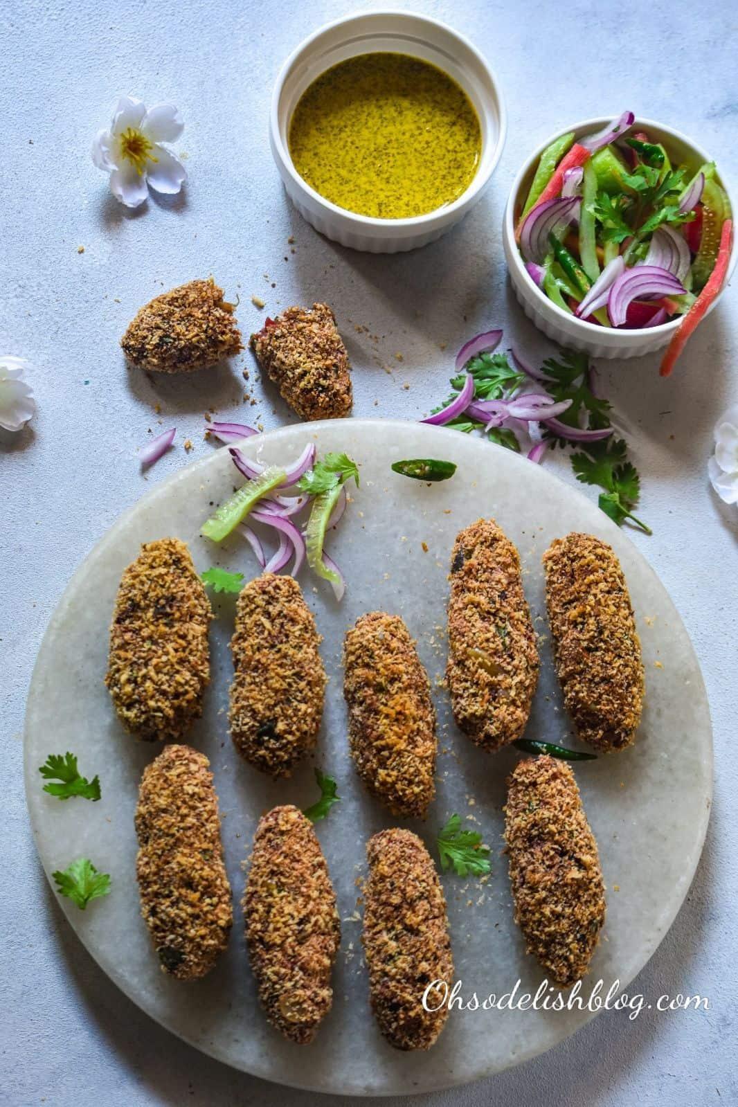 baked vegetable chop (kolkata style)