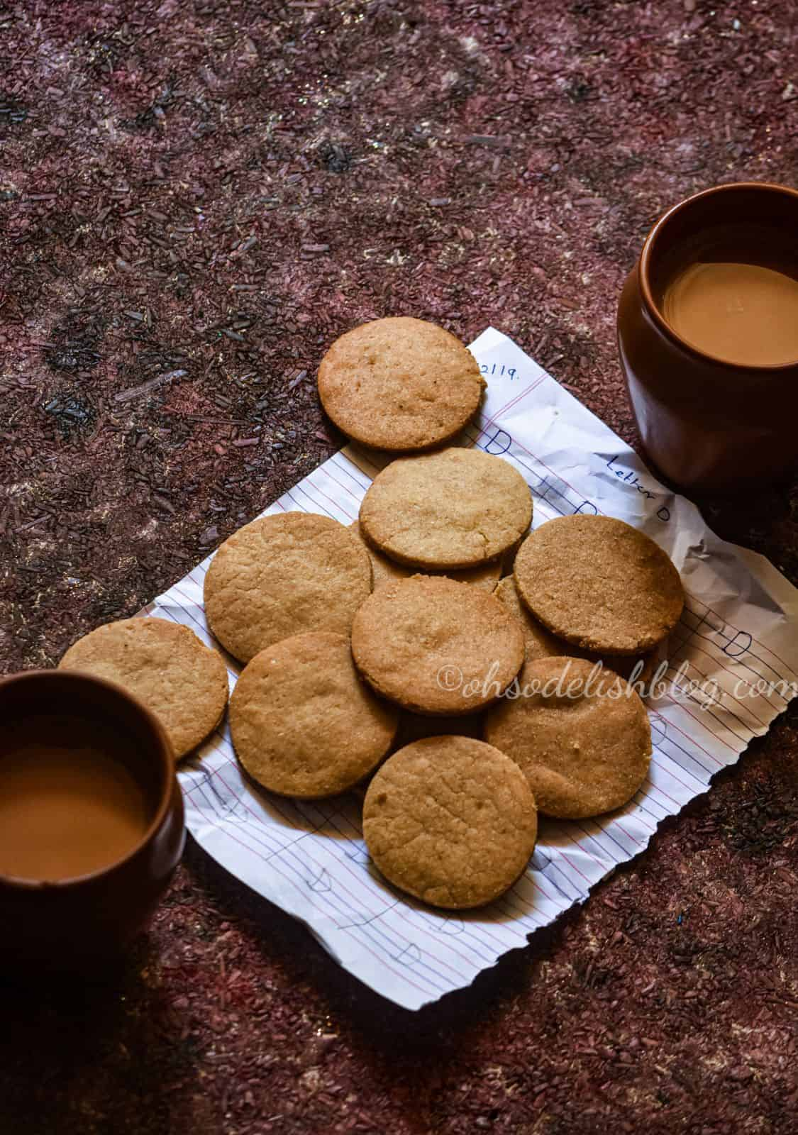 Madras tea shop style butter biscuits